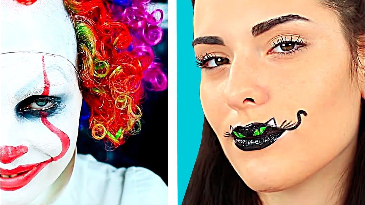 Halloween Schmink Ideen.Top 5 Einfache Halloween Make Up Ideen