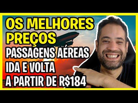 OS MELHORES PREÇOS DE PASSAGENS AÉREAS NESSA SEXTA FEIRA! IDA E VOLTA A PARTIR DE R$184!