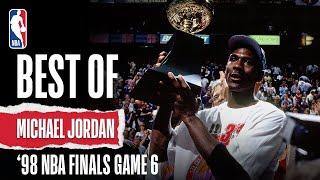 BEST Moments From MJ's Heroic Last NBA Finals   The Jordan Vault