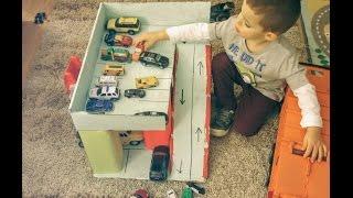 玩具車停車場