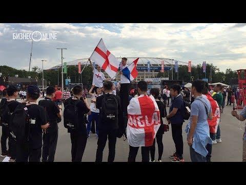 Как английские и хорватские болельщики готовились к полуфиналу чемпионата мира