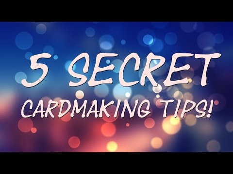 5 SECRET Cardmaking Tips! (Plus bonus tips) April Fools Joke