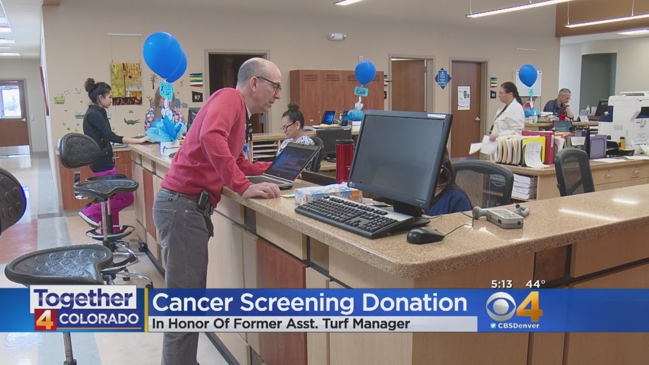 Broncos Players Focus On Colorectal Cancer Screening