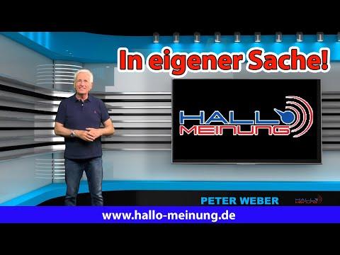 Peter Weber - In eigener Sache!