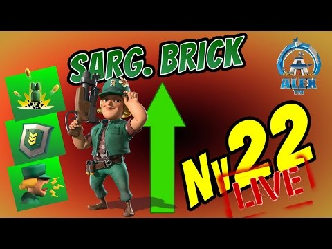 ÚLTIMO UP SARG. BRICK Nv. 22 | Boom Beach | EVERSPARK + REDS