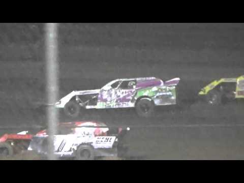 Ark La Tex Speedway Limited modified A Feature Cajun classic 2015 part 1