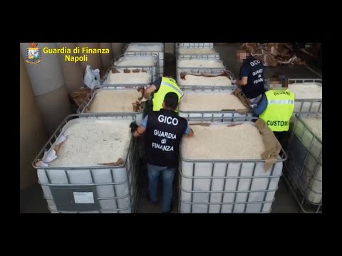 إيطاليا تصادر 14 طنا من الكبتاغون المصنع من قبل تنظيم -الدولة الإسلامية- في سوريا  - 16:59-2020 / 7 / 1