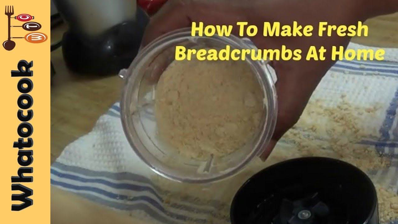 How to Make Fresh Breadcrumbs pics
