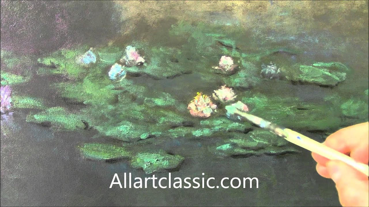 Monet Oil Painting Techniques