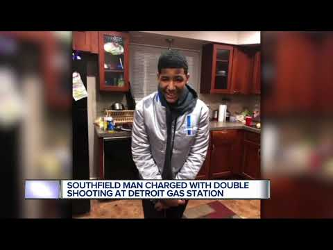 Southfield man charged in non-fatal shooting in a gas station