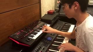 JD-Xi x RD800 Improvisation