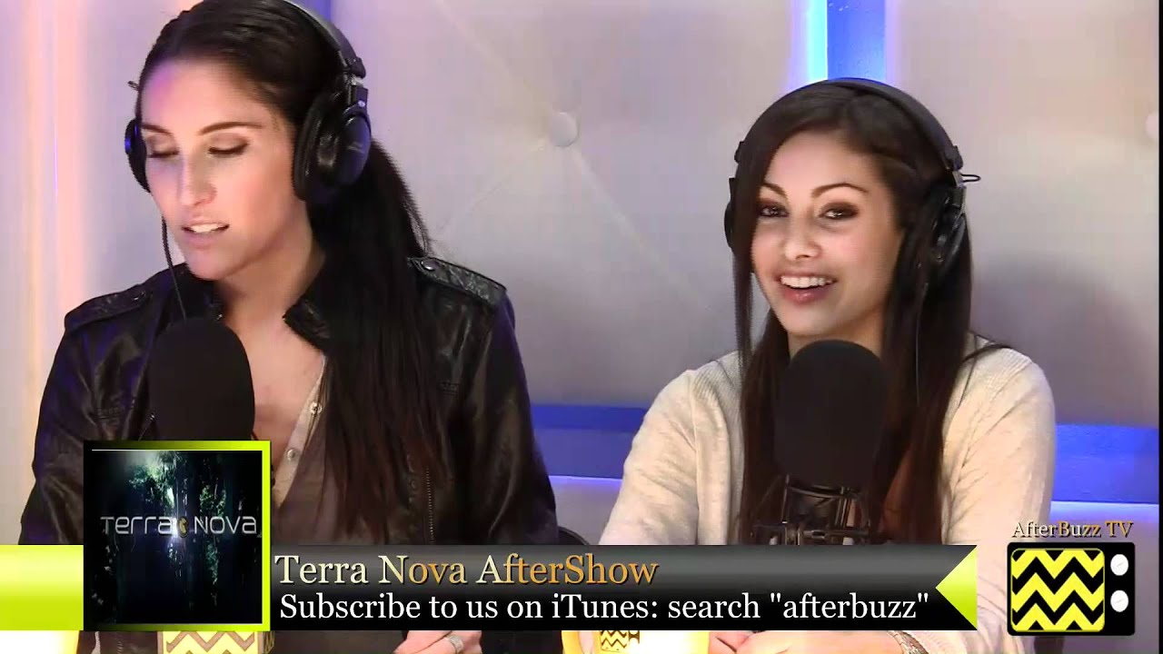 """Download Terra Nova  After Show  Season 1 Episode 9 """"Now You See Me""""   AfterBuzz TV"""