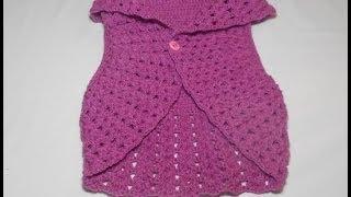 Tutorial Uncinetto Bolero Parte 1 Ganchillo Bolero Crochet Bolero