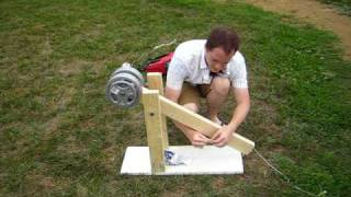 Homemade Trebuchet