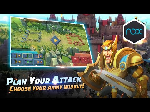 Play Lords Mobile On PC Using NoxPlayer With A Lot Of Accounts