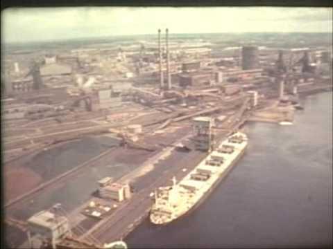 Hoogovens lucht opname 1976