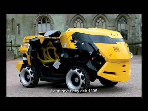 #1937. Land rover city cab 1995 (Prototype Car)