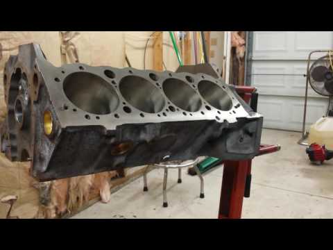Check everything when your engine block comes back from the machine shop