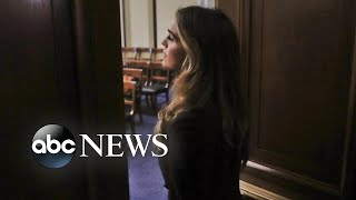 Hope Hicks grilled behind closed doors on Capitol Hill