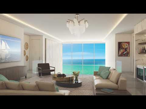 5000 North Ocean - Design Perspective by Bob Martin of The Decorator's Unlimited