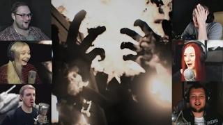 """""""Реакции Летсплейщиков"""" на Сожжение Заживо из Resident Evil 7"""