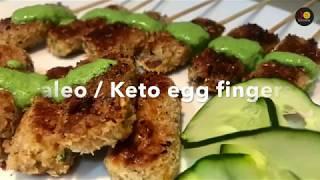 Paleo diet egg fingers in Tamil  | Paleo / keto snack recipes in tamil | egg recipes | Jo kitchen