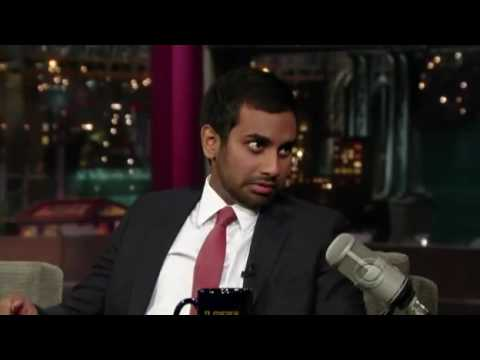 Aziz Ansari Details a Night Out with Kanye West on Letterman