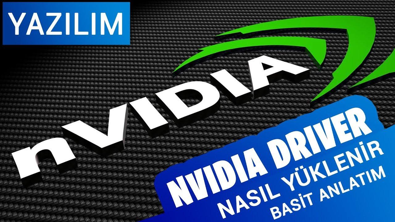 Nvidia Kontrol Paneli İndirme ve Denetim Masası Yok Çözümü