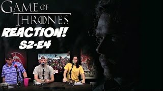 Game Of Thrones Season 2 Episode 4 REACTION!