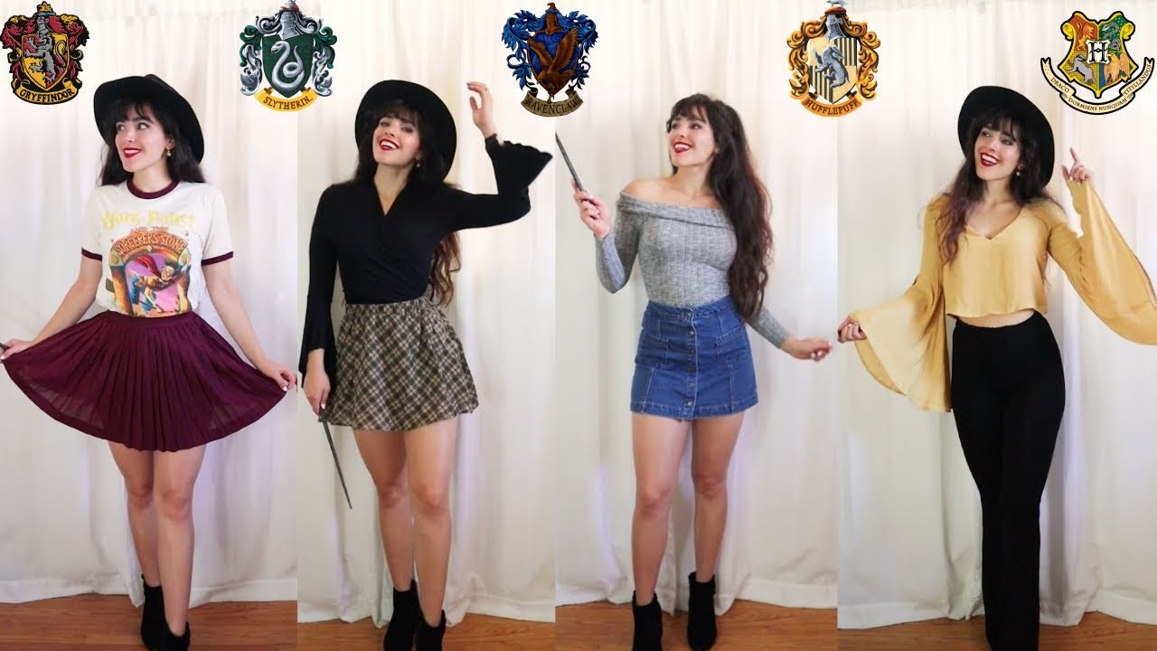 [VIDEO] – Back to School Outfit Ideas // Harry Potter Inspired Outfits