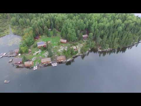 Wine Lake Camp - Aerial 1