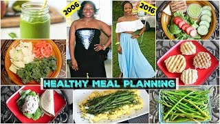 What I Ate to Lose 100 POUNDS || Quick Meal Prep for Breakfast, Lunch & Dinner on a Budget