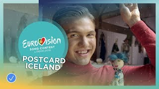 Postcard of Ari Ólafsson from Iceland - Eurovision 2018