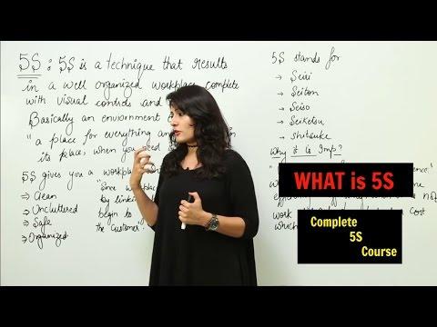 Lean Six Sigma l 5S Implementation Course l Lean Implementation l 5S