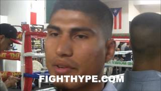 "MIKEY GARCIA DISCUSSES TOP RANK LAWSUIT AND YURIORKIS GAMBOA FALLOUT: ""I"