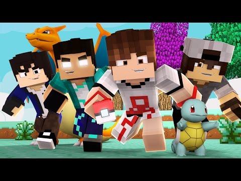 Minecraft - POKEMON GO HARDCORE com:Rezende,JeanL,SrPedro,Orion e Adriano #1