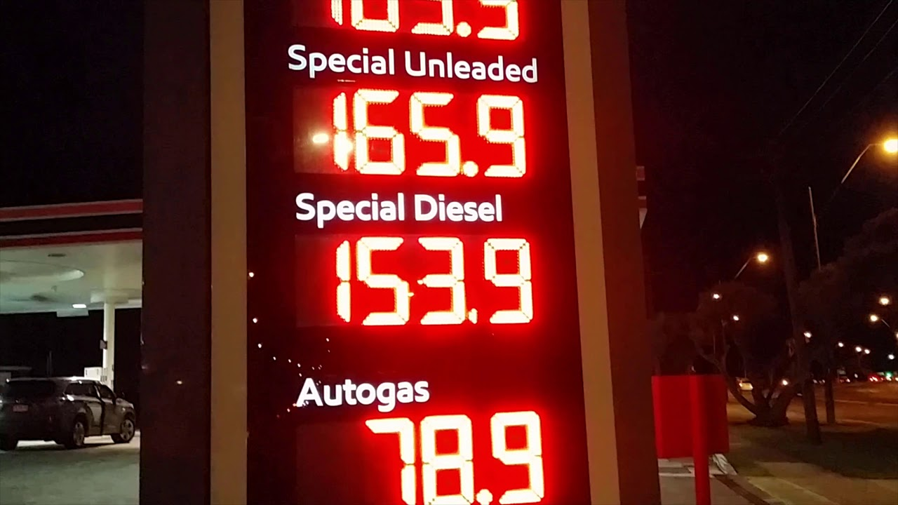 Fuel prices