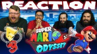Super Mario Odyssey E3 2017 Trailer REACTION!!