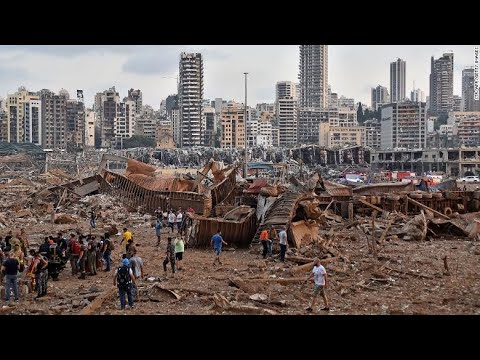 Beirut explosion: Thousands injured. Video footage