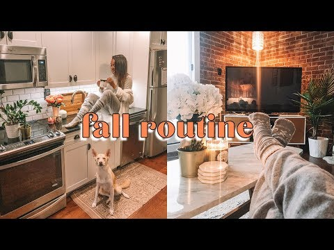 FALL Cozy Evening Routine 2018 | Antonnette