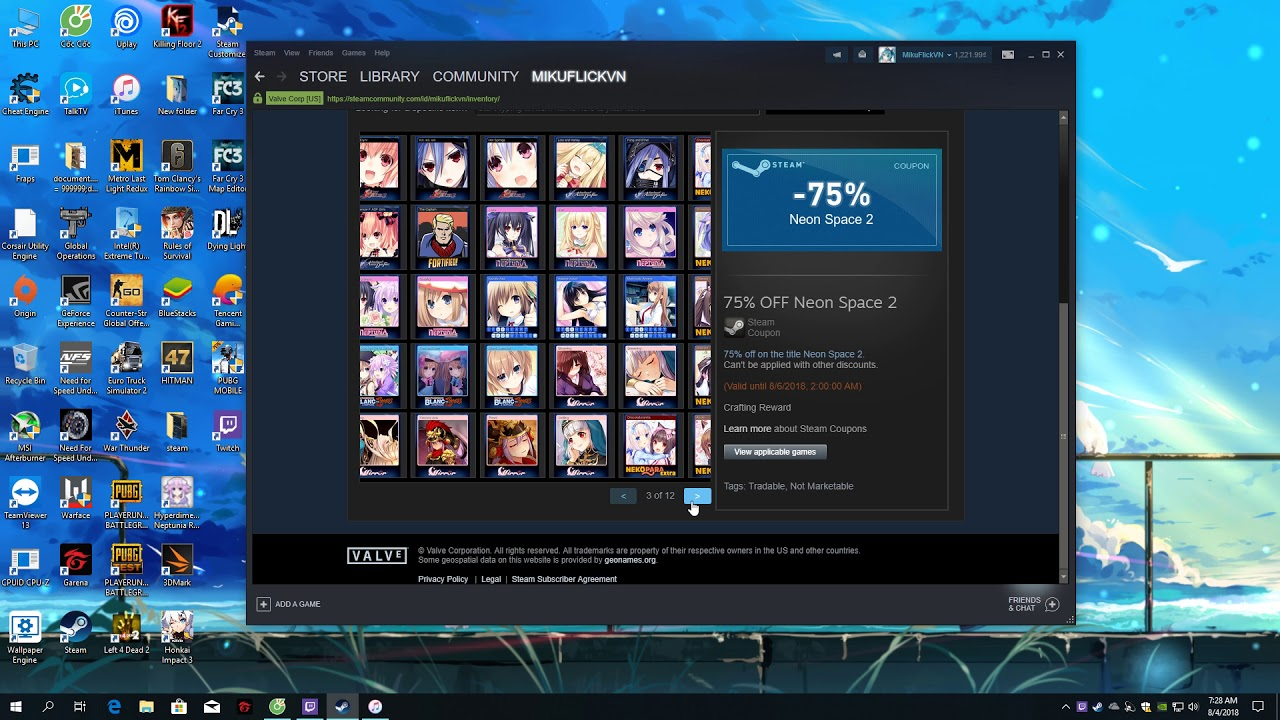 Cách mua bán cơ bản trên Steam + Gỉai thích thêm về badges của Steam
