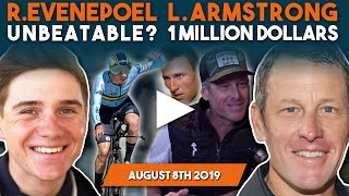 Remco Evenepoel DESTROYS European Championships! Lance Armstrong earns $1,000,000 at Tour de France!