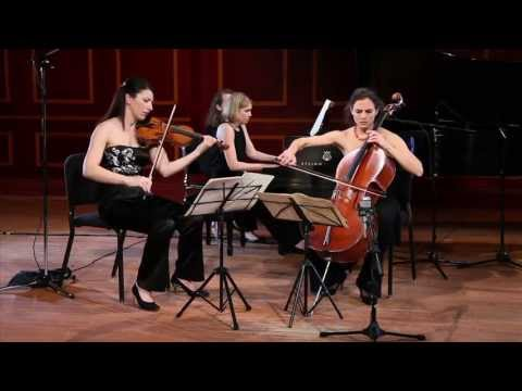 Cortona Trio plays Schubert - Piano Trio No. 1 in B-flat major, D. 898  I. Allegro moderato