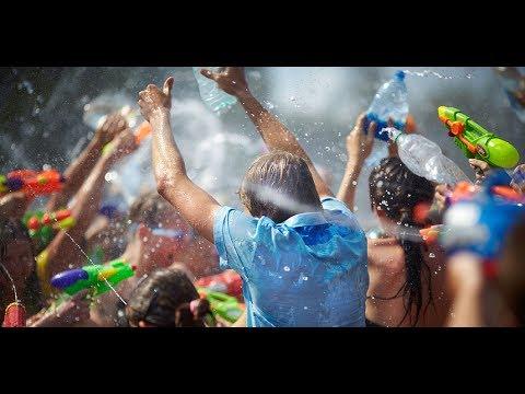 BATAIE CU APA  || Anul Nou in LAOS