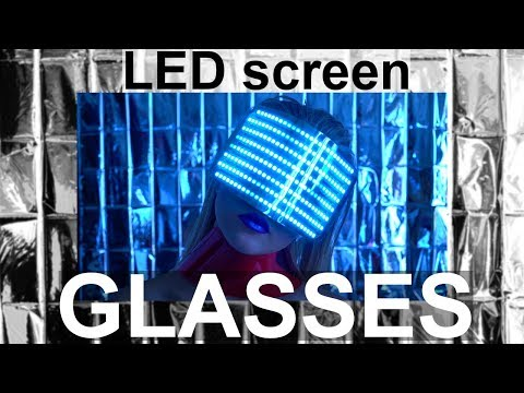 Smart LED Screen Glasses Rave Burning Man Glasses ETEREshop _H11