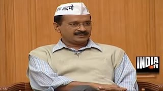 'Aam Aadmi' Arvind Kejriwal in Aap Ki Adalat (Full Epiosde)- India TV