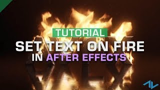 Video How to Set Text on Fire | After Effects download MP3, 3GP, MP4, WEBM, AVI, FLV Juni 2018