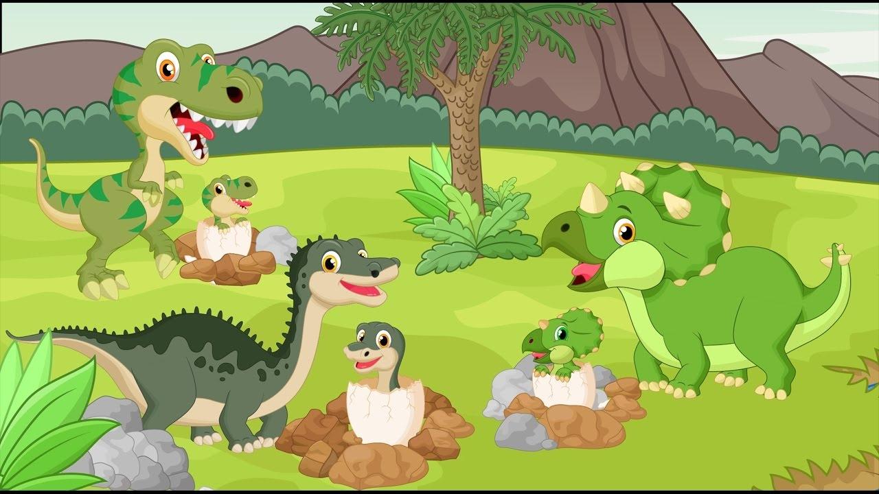 Динозавры мультфильмы картинки рисунки
