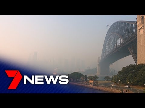 60 People Impacted By The Bushfire Smoke In Sydney | 7NEWS