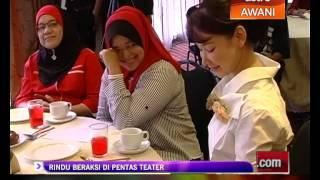 Nasha Aziz Rindu Beraksi Di Pentas Teater